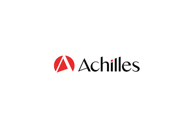 Logo's of Achilles and LEEA.
