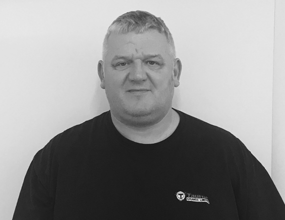 Stuart Sharples Profile Picture, Operations Manager of Taurus Cranes